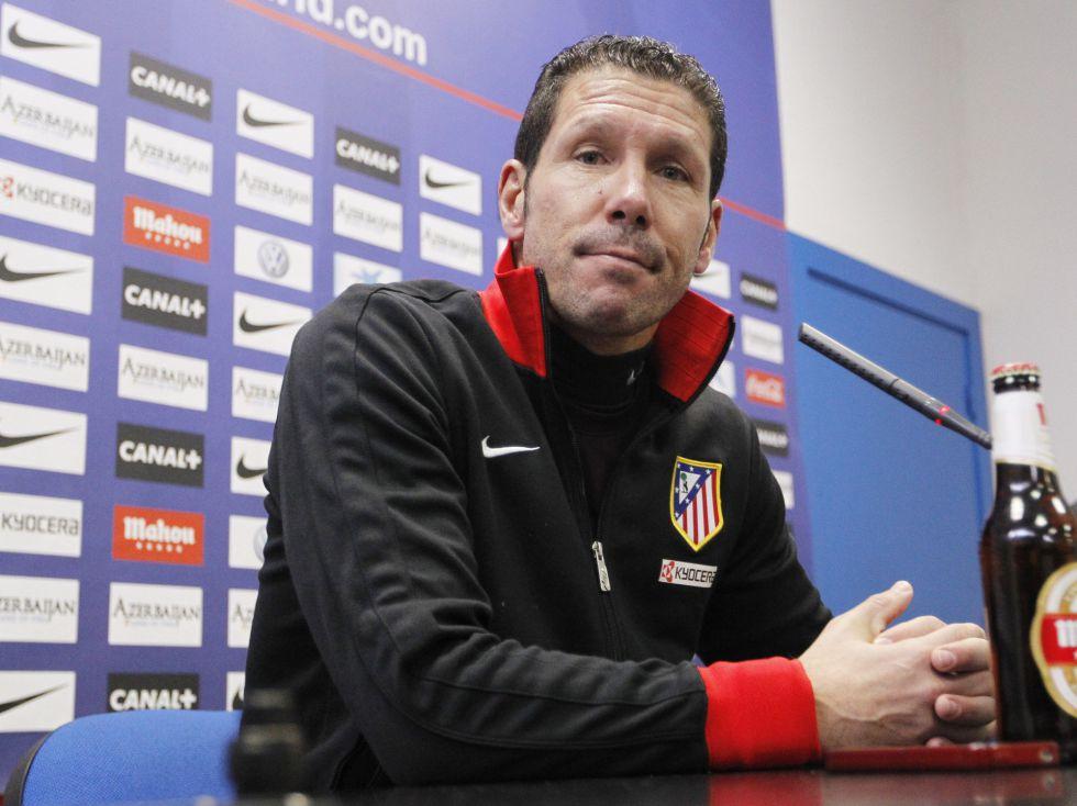 """Simeone: """"Alegre por llevar un año en un club que quiero"""""""