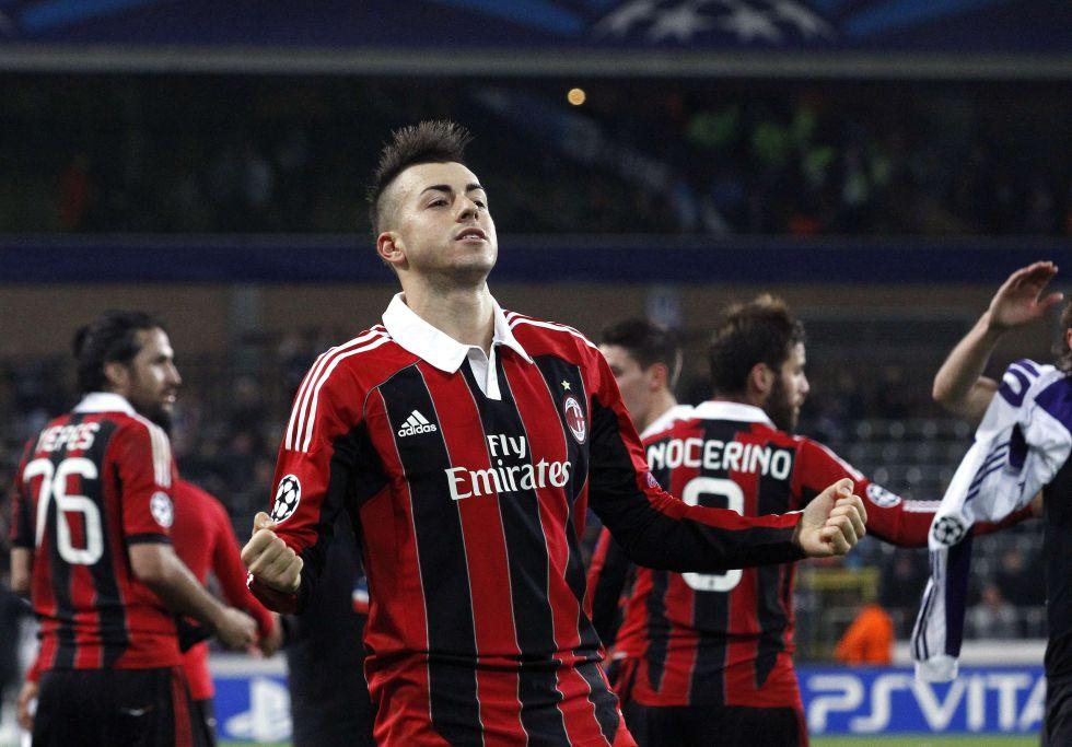 El Shaarawy y poco más para un Milán alejado de su nivel