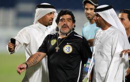La federación de Irak desmiente el interés por Maradona