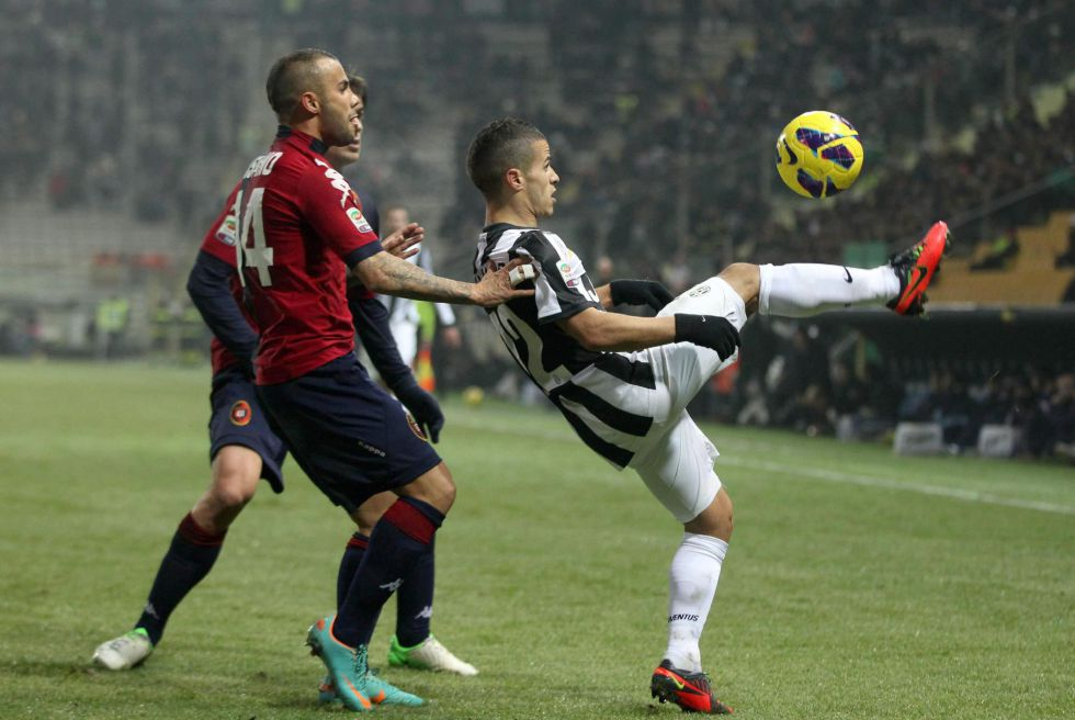 Matri lidera la remontada de la Juventus ante el Cagliari