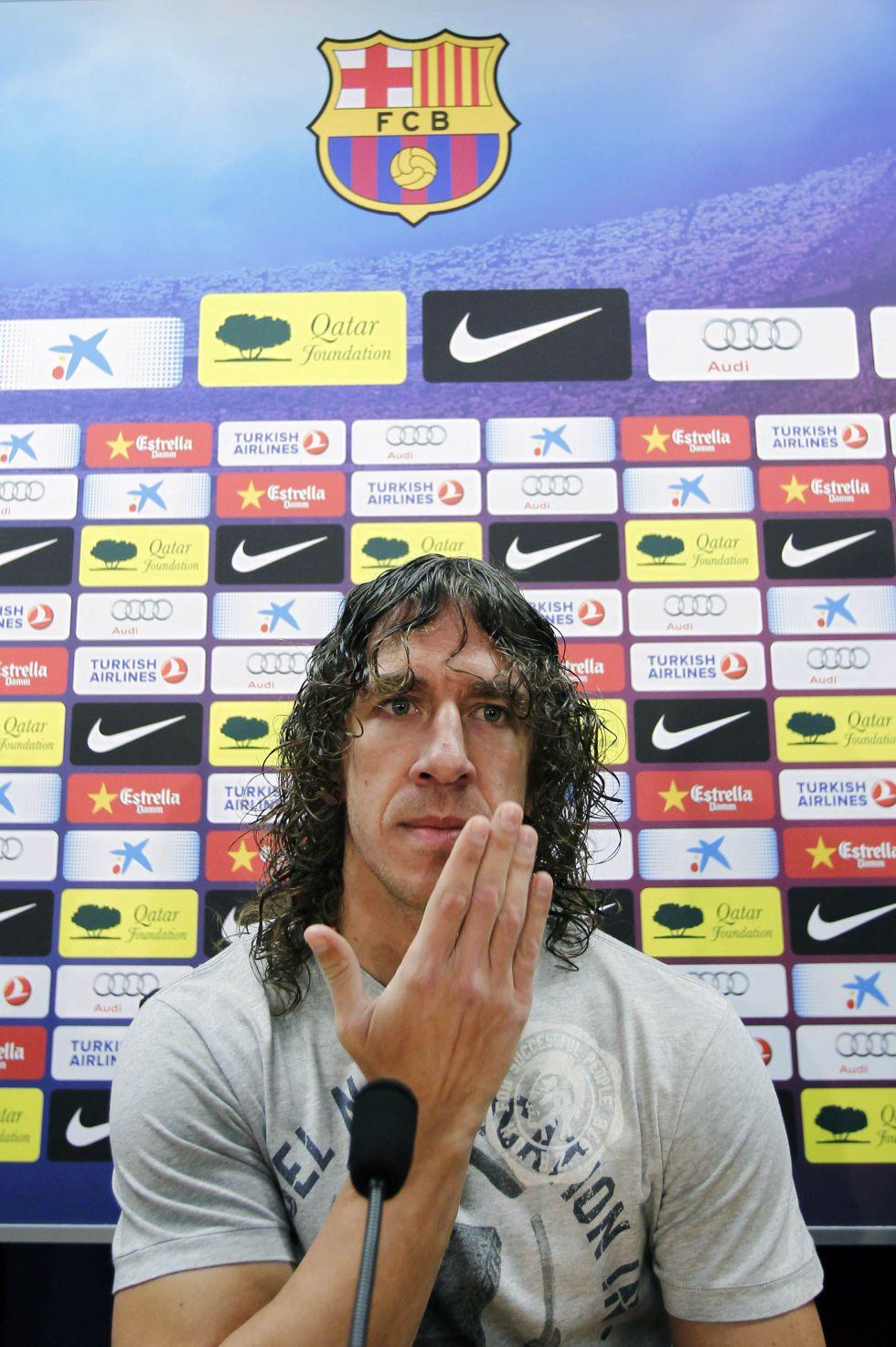 """Puyol: """"Tito aún no se había ido cuando ya quería volver"""""""