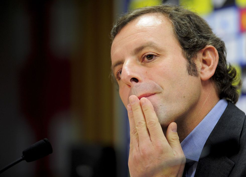 "Sandro Rosell: ""Os deseo salud, salud y salud para 2013"""