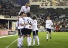 El Valencia gana por pegada un partido de pasacalles