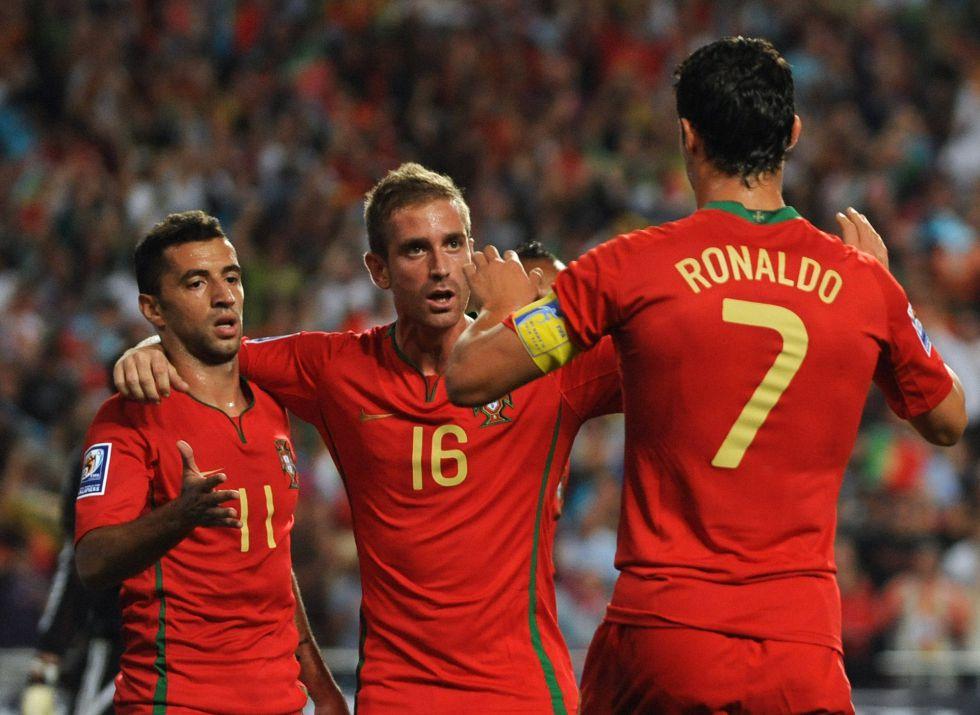 Cristiano, Pepe y Bruno Alves apoyan al sancionado Meireles