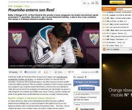 """Mourinho entierra a su Real Madrid"" dice la prensa mundial"