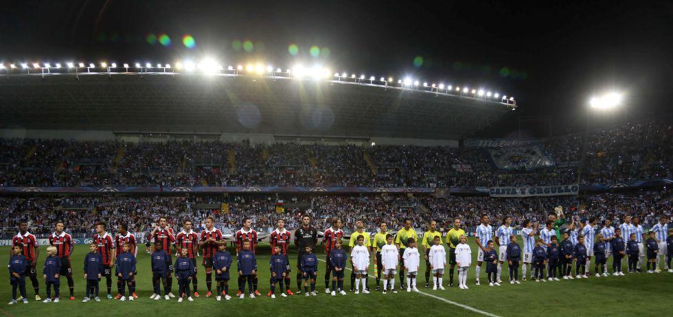 La UEFA suspende al Málaga por un año a causa de su deuda