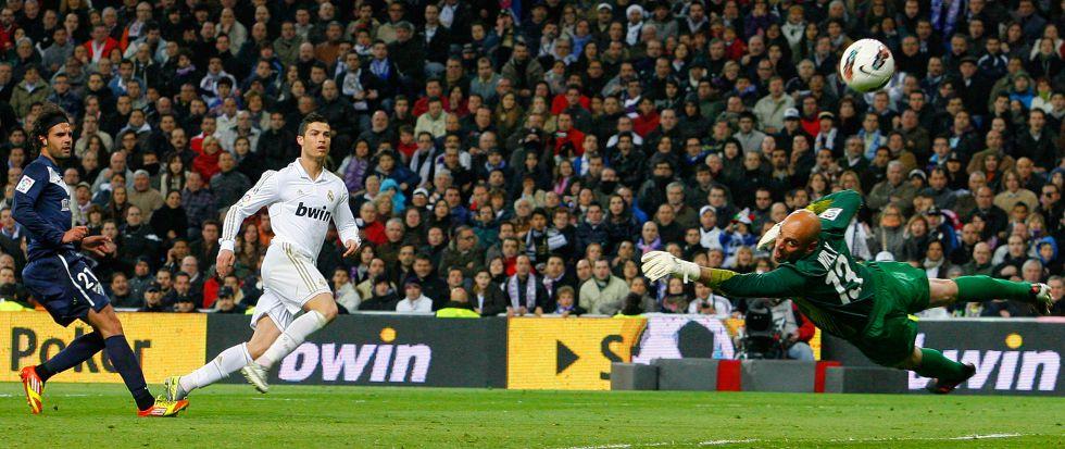 Cristiano Ronaldo tiene al Málaga como víctima favorita