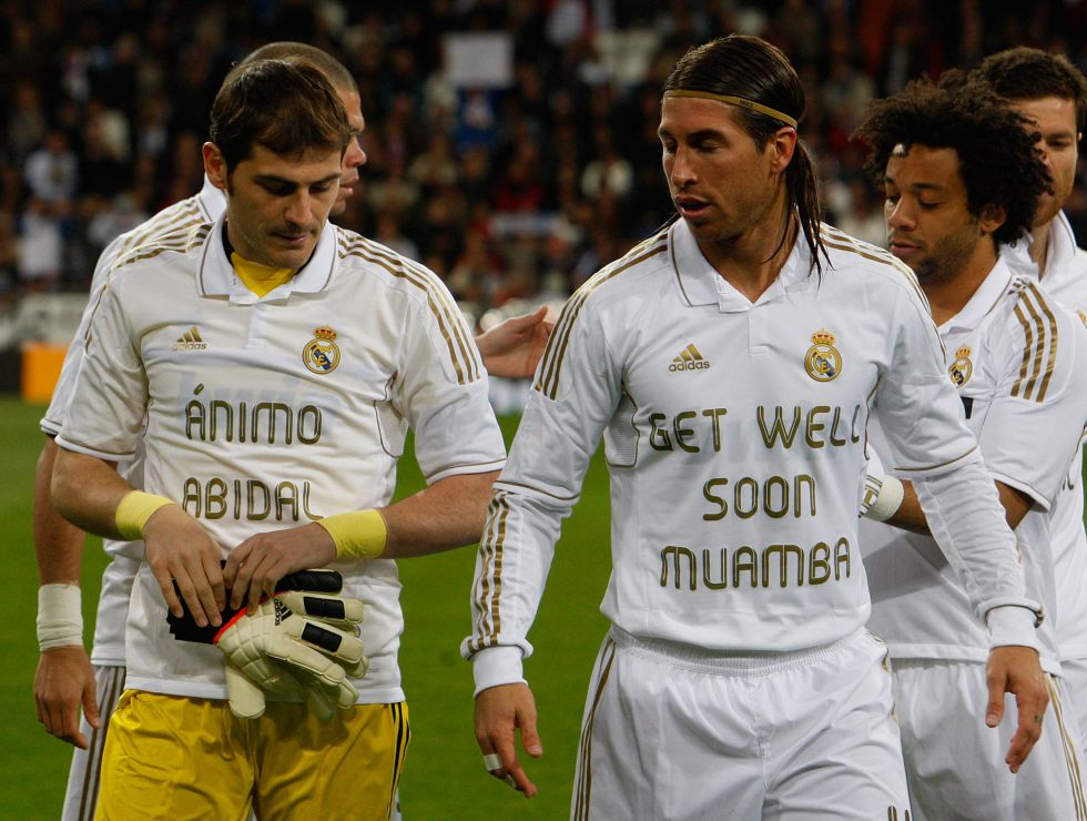 El Madrid lucirá camisetas de apoyo a Tito en La Rosaleda