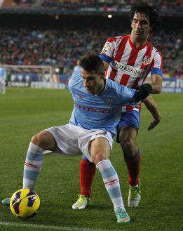 Hugo Mallo sufre un esguince en su tobillo izquierdo
