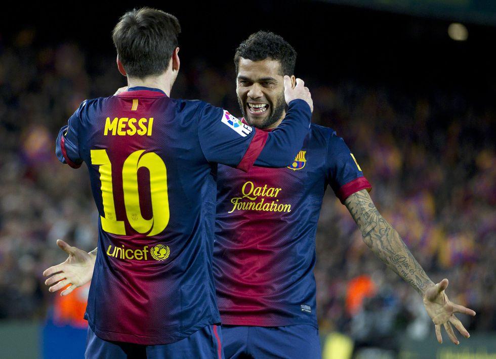 """Alves: """"Sé que es caro jugar aquí, pero competiré con quien sea"""""""