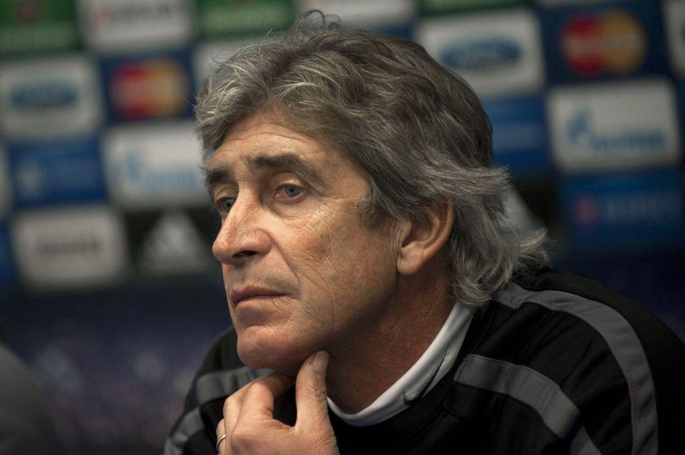 """Manuel Pellegrini: """"Despedimos un año brillante para el club"""""""