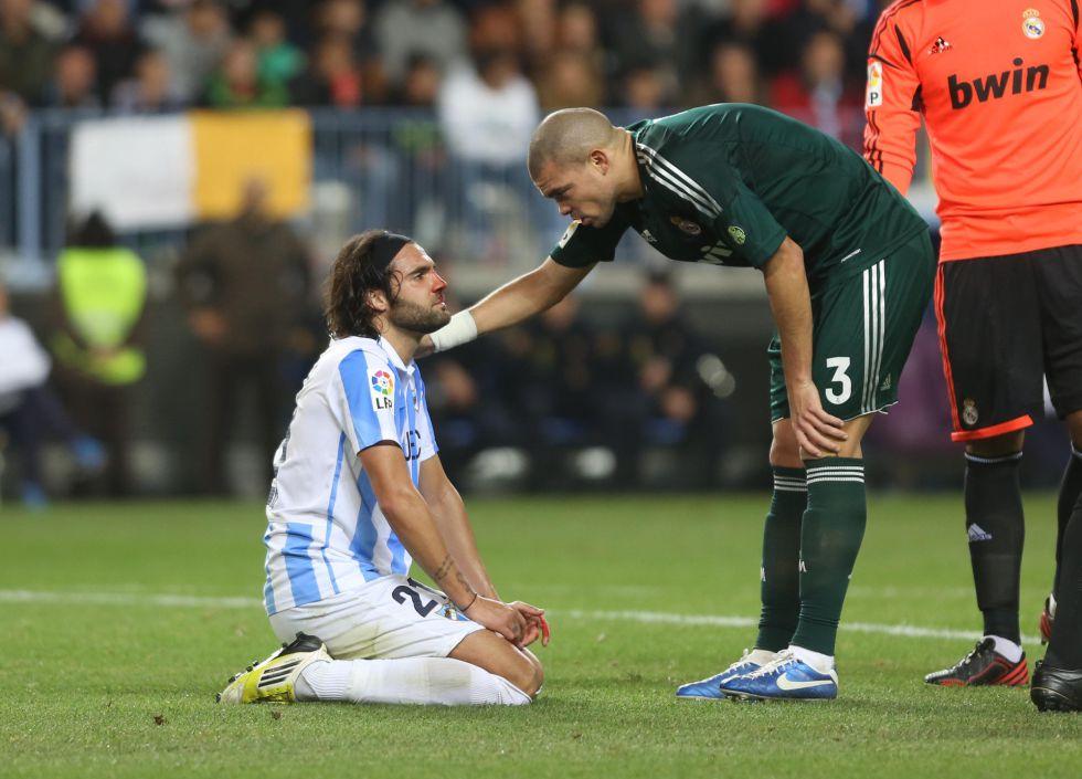 """Pepe: """"Hubo jugadas polémicas que el árbitro no ha pitado"""""""