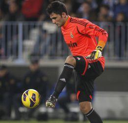 Adán sabía desde el martes que iba a jugar contra el Málaga
