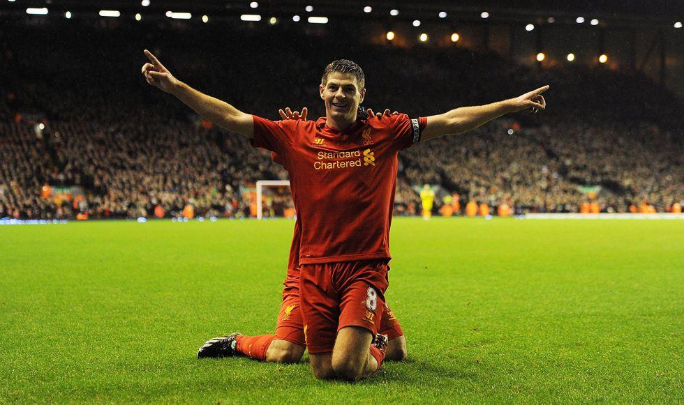 """El Liverpool quiere renovar el contrato del """"vital"""" Gerrard"""