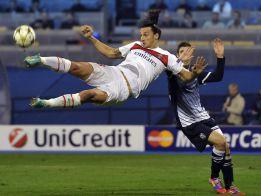 Ibrahimovic marca la mitad de los goles del PSG en Liga