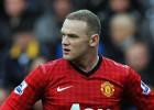 Rooney se lesiona la rodilla y será baja de dos a tres semanas