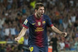 Messi, 91 goles en 2012