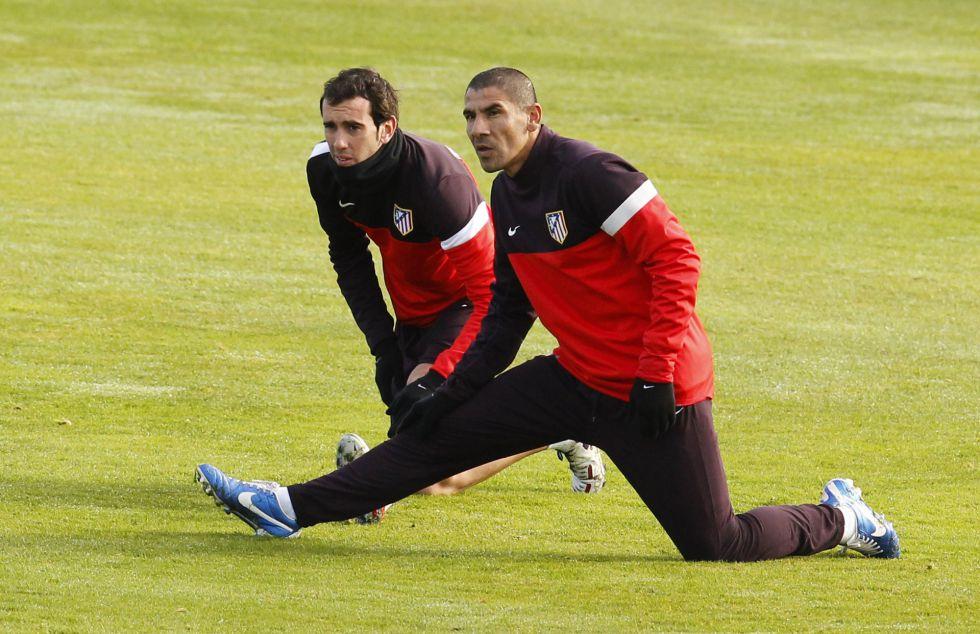 """Godín: """"Estoy loco de la vida y disfrutando en el Atlético"""""""