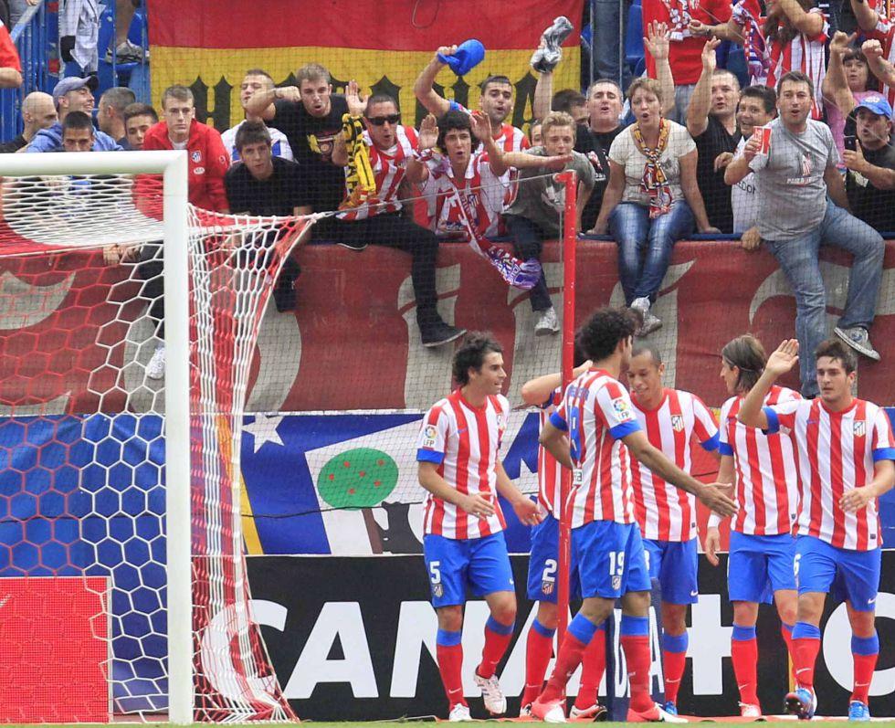 El Vicente Calderón cierra el 2012 con sólo dos derrotas