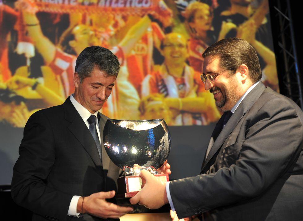 Los colchoneros optan a mejor club de 2012 en Globe Soccer