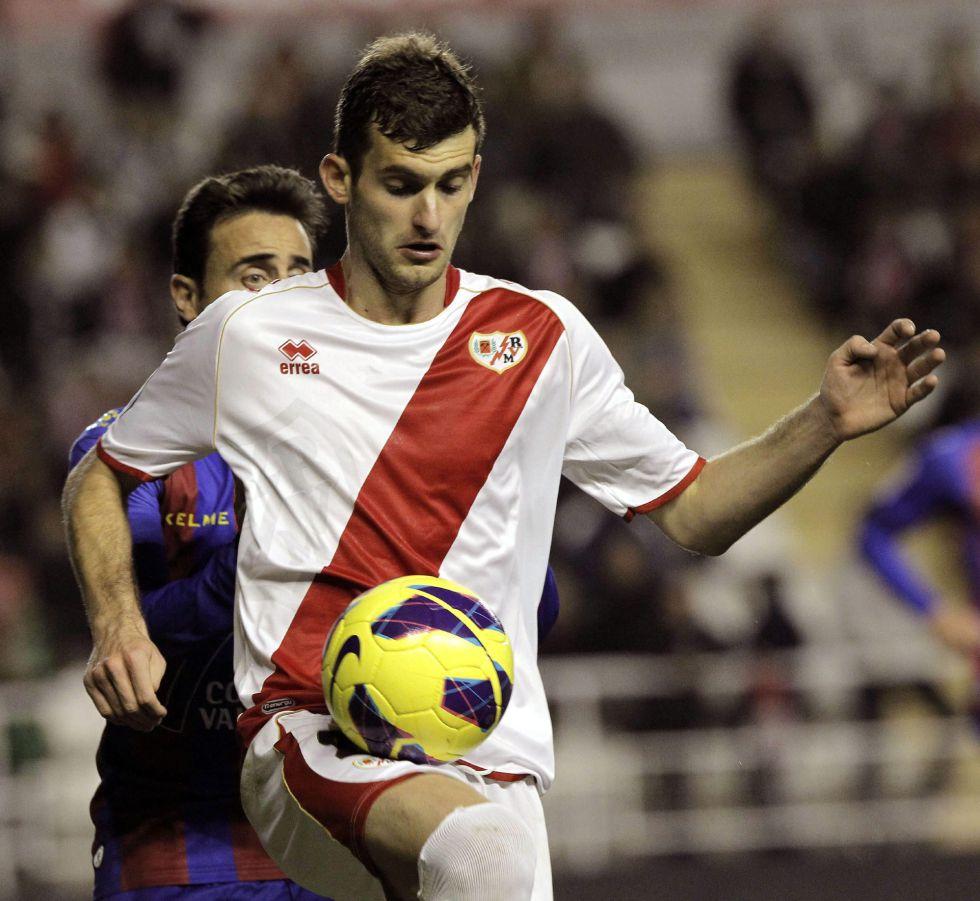 """Leo Baptistao: """"Fue increíble mi primer partido en Vallecas"""""""