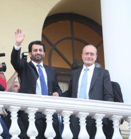 Alcaldía y Diputación de Málaga expresan al CSD su inquietud