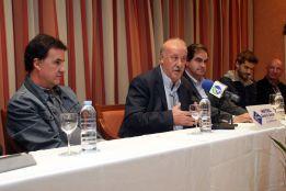 """Del Bosque sobre Casillas: """"Mou pensaría que es lo mejor"""""""