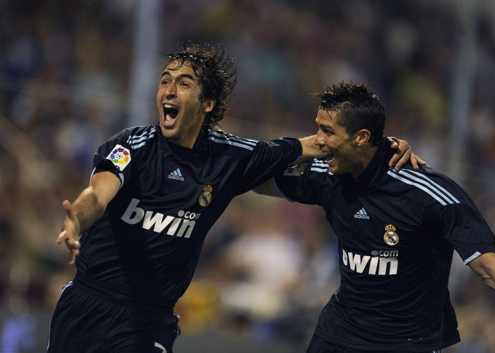 Raúl es el séptimo goleador en activo; Cristiano, decimoquinto