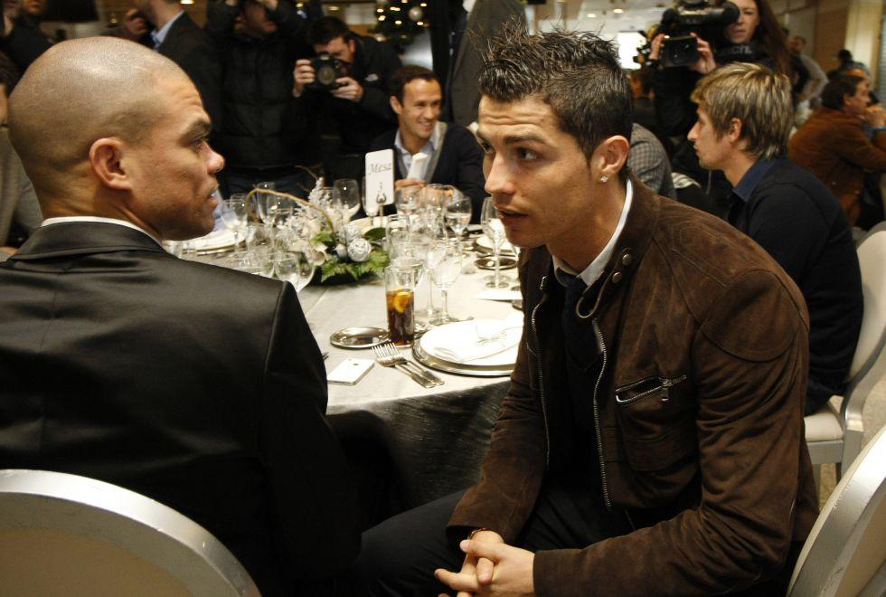 """Pepe: """"Cristiano es feliz y estoy seguro de que va renovar"""""""