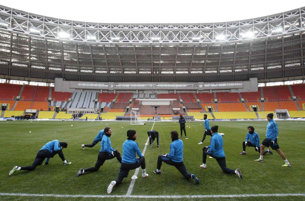 El Atlético podría jugar la vuelta ante el Rubin en Moscú