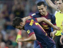 """Pedro: """"David Villa está en su mejor nivel y lo va a demostrar"""""""
