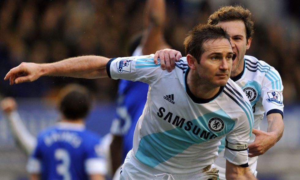 Lampard lidera la remontada del Chelsea contra el Everton