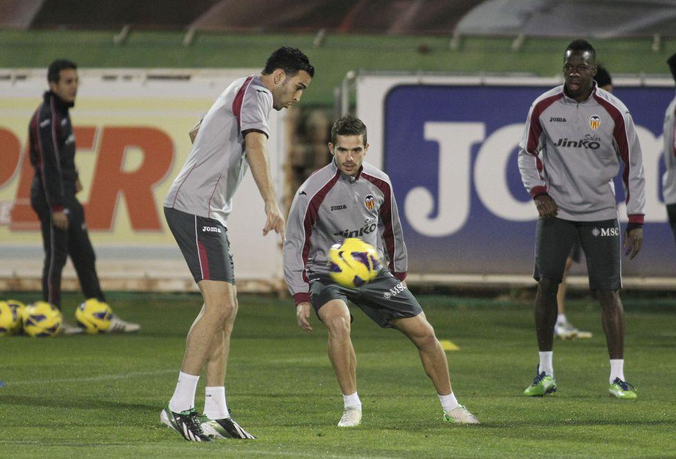 Gago llegó a Valencia con ganas de recuperarse y quedarse