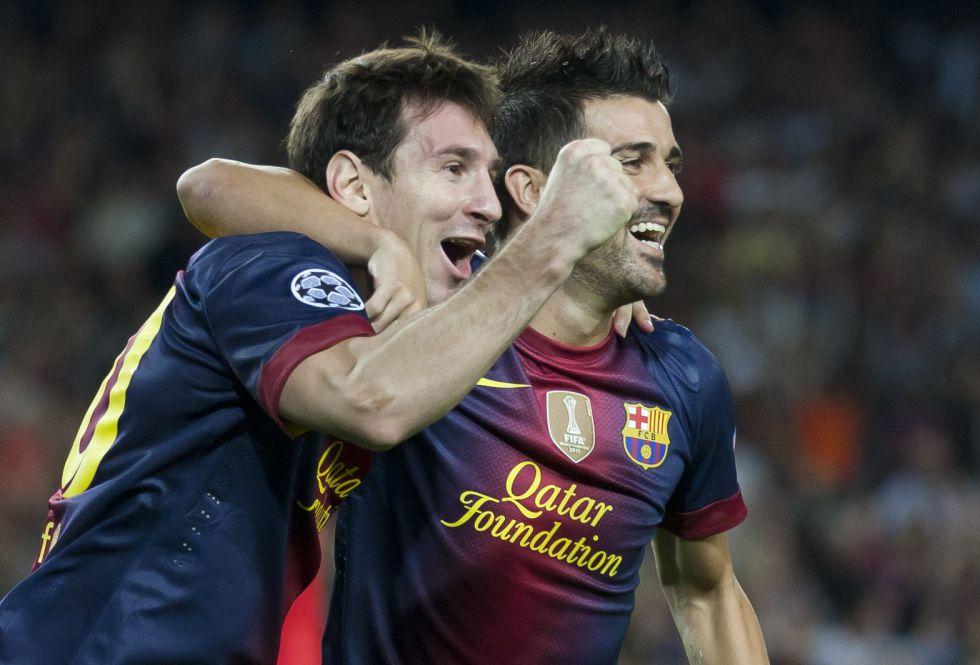 Leo Messi y Vicente Del Bosque elegidos como 'Reyes de Europa'