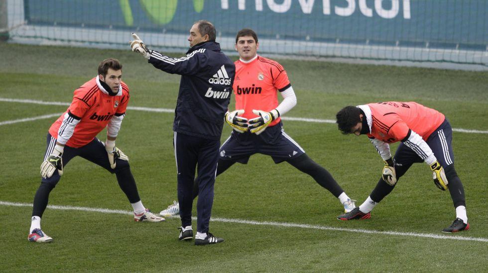 """Clamor en la vuelta al trabajo del Real Madrid: """"Iker, Iker, Iker"""""""