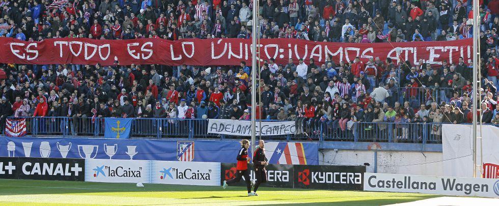 Sigue la fiebre por el Atlético: 7.000 hinchas en la sesión