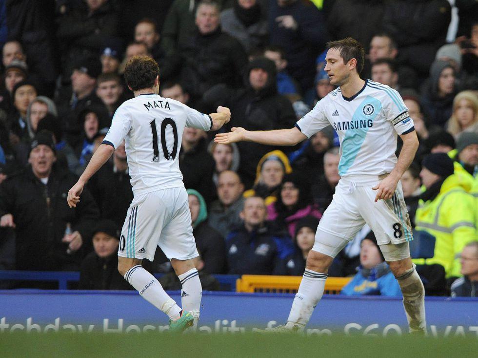 """Mata: """"He conocido a pocos futbolistas como Lampard"""""""