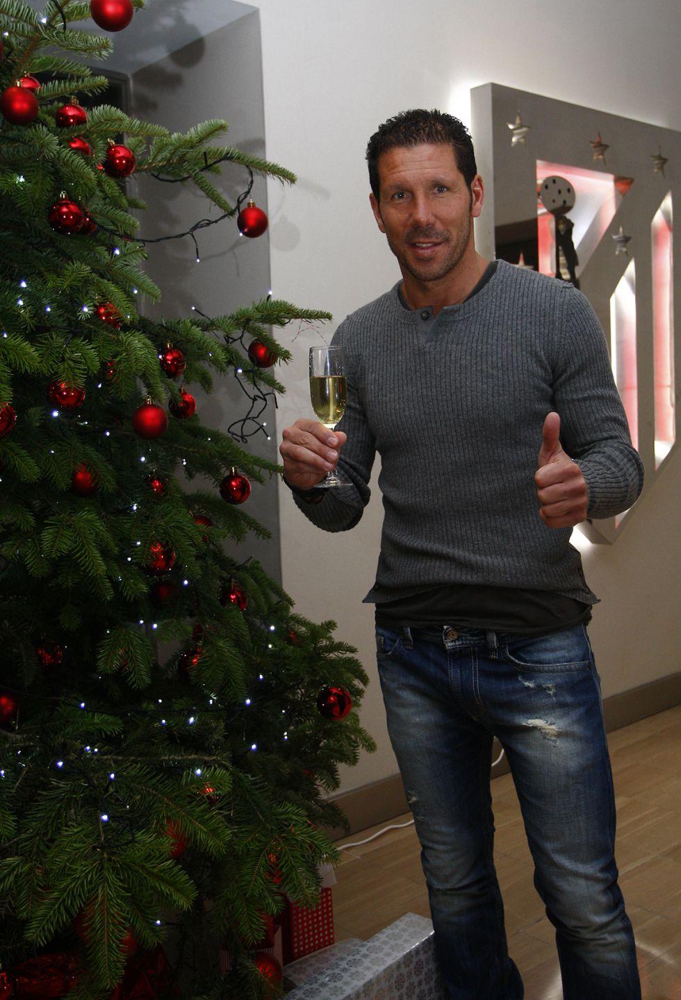 """Los deseos de Simeone: """"Que en el 2013 podamos seguir así"""""""