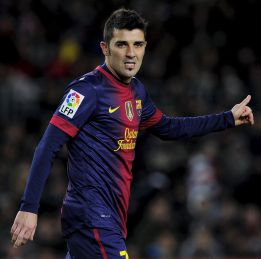 Daily Mail: El Barça rechaza un oferta del Liverpool por Villa