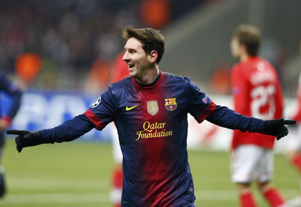 Messi, mejor goleador mundial de 2012 por delante de Neymar