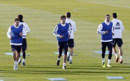 Higuaín se entrenó con el grupo e irá convocado ante la Real