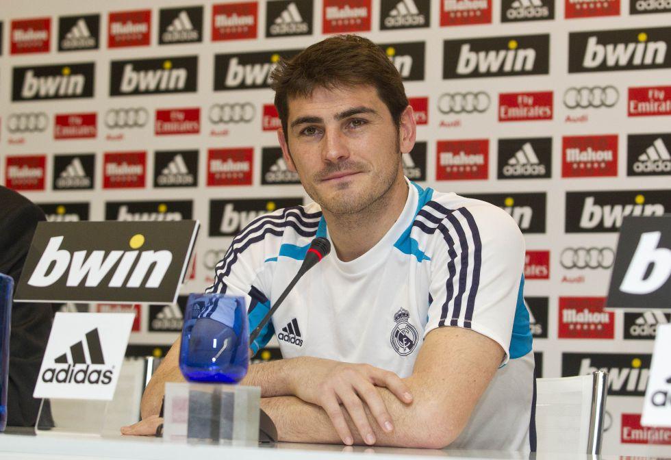 """Casillas: """"Estoy entrenándome para recuperar la titularidad"""""""