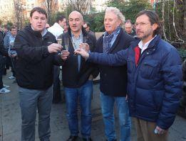 """Brindis en Santander por un Racing """"libre, limpio y honesto"""""""