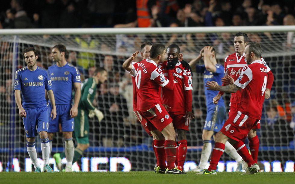 El QPR sorprende al Chelsea