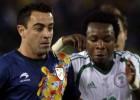 Cruyff se despide de Cataluña con un empate ante Nigeria