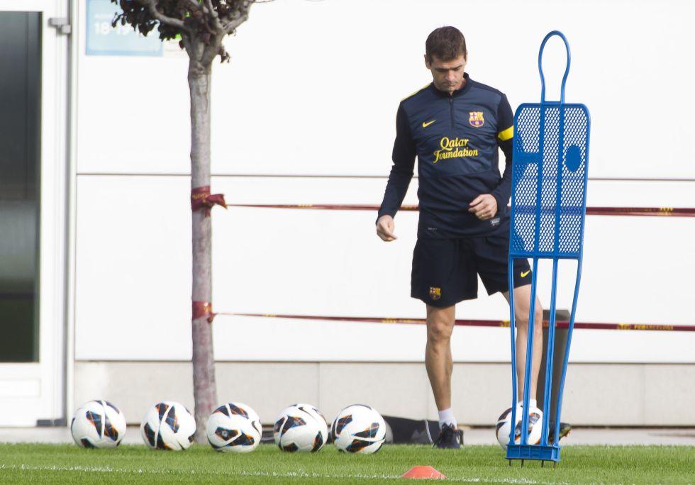 Tito vuelve al césped: dirigió el entrenamiento vespertino