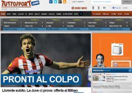 La Juve desea a Llorente de inmediato según 'Tuttosport'
