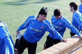Cristian Álvarez es duda para el partido contra el Barcelona