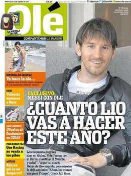 """Messi, deseo para 2013: """"Ganar todo lo posible con el Barça"""""""