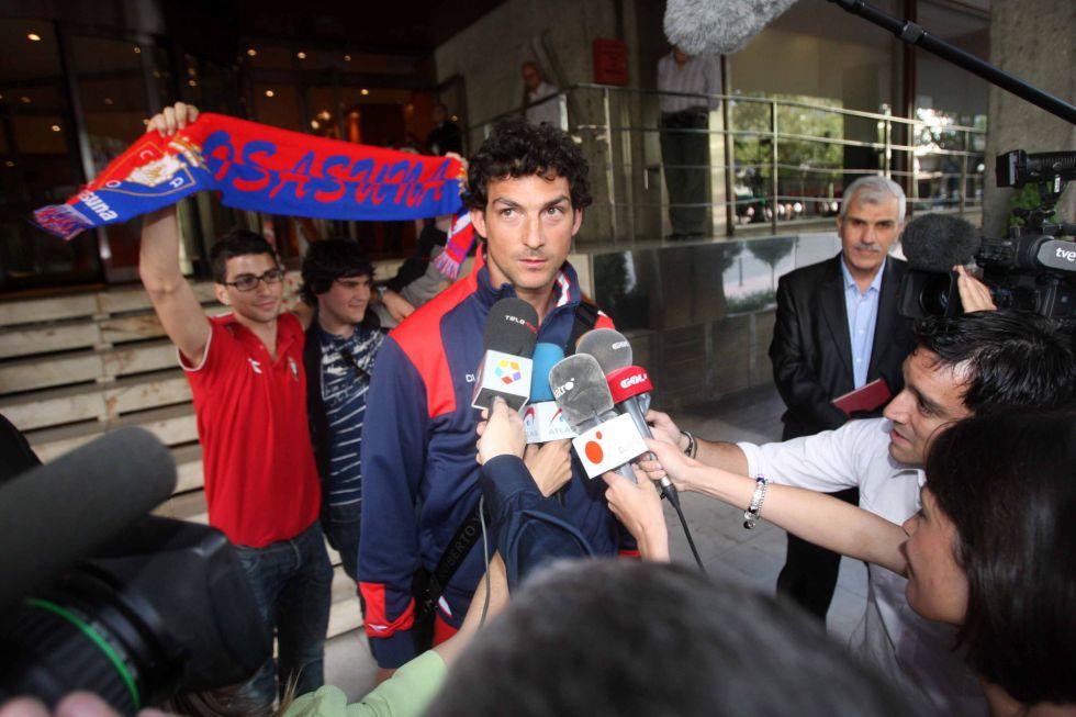 El meta Ricardo regresa a Osasuna hasta junio de 2013